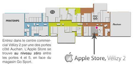 ouverture de l 39 apple store de v lizy 2. Black Bedroom Furniture Sets. Home Design Ideas