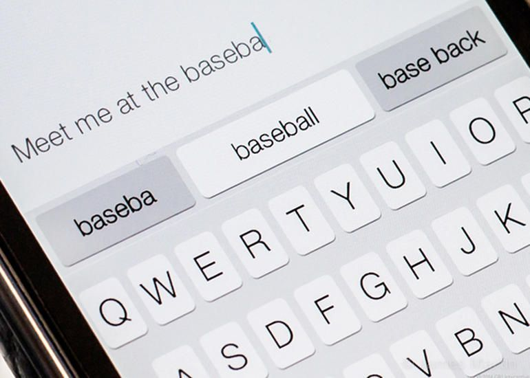 clavier ios 8 comment ca marche