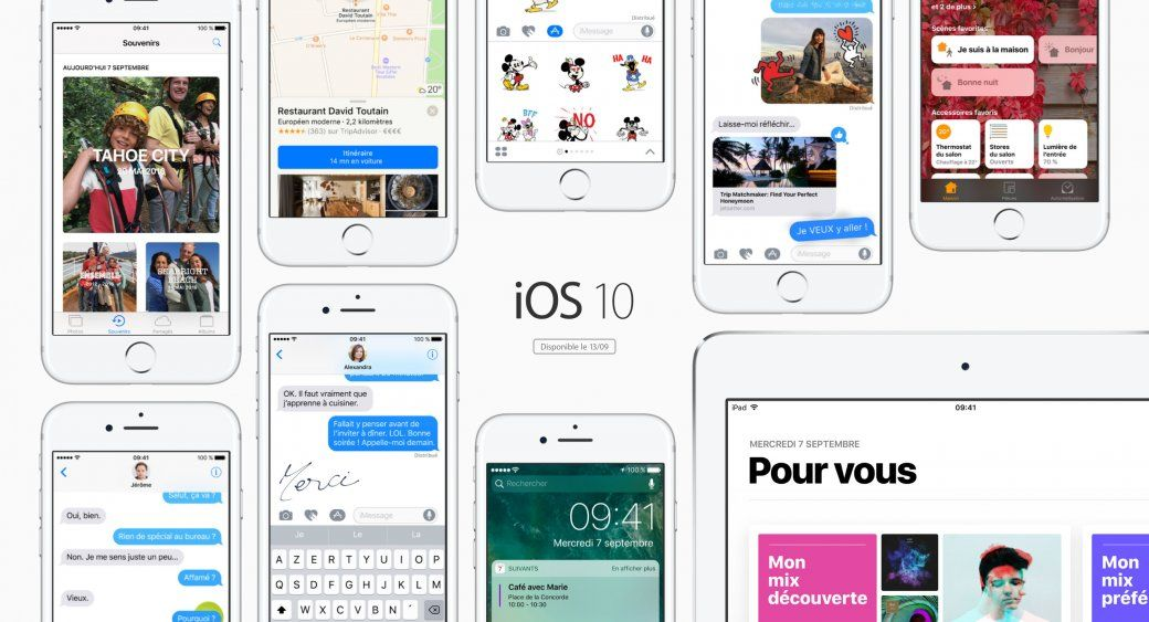 iOS 10 final officiellement disponible ! 10 choses à faire avant la MÀJ