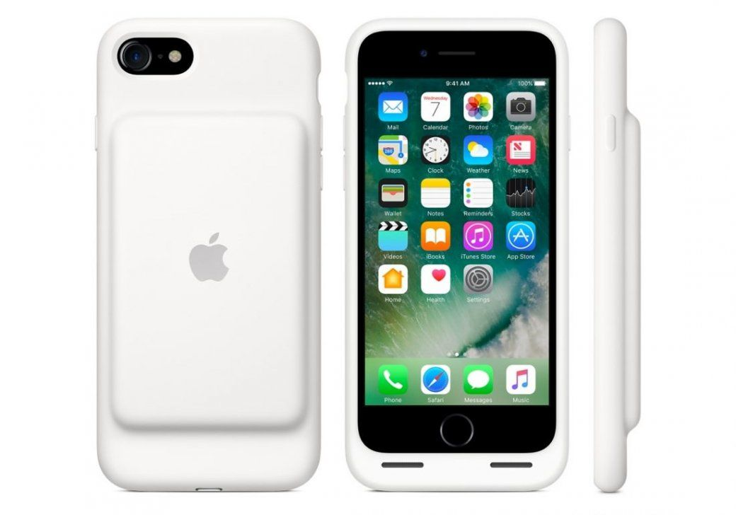l 39 iphone 7 a aussi sa smart battery case. Black Bedroom Furniture Sets. Home Design Ideas