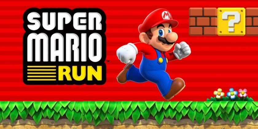 super mario run jeu iphone