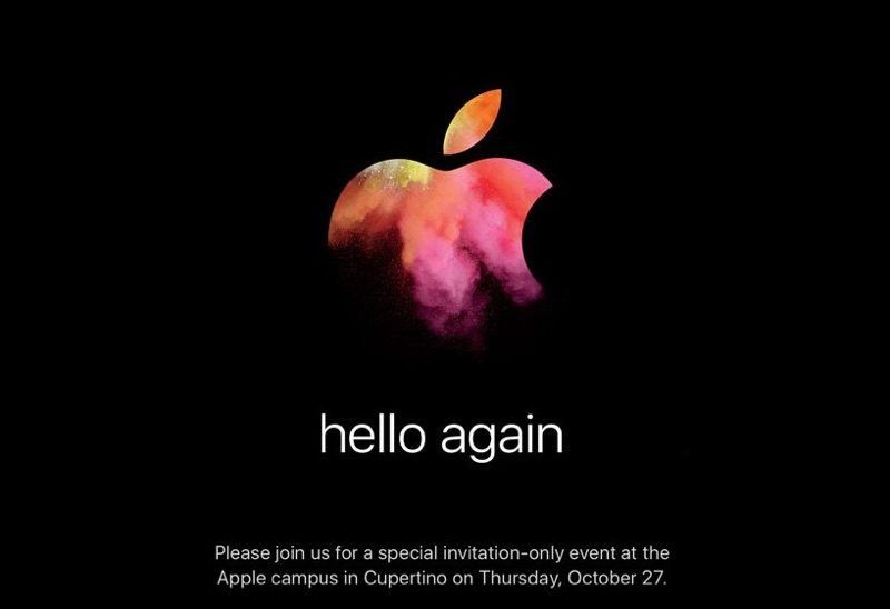 Keynote Mac : Apple officialise la date du 27 octobre !