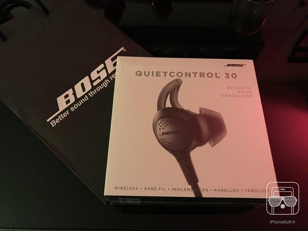 Test des nouveaux écouteurs Bose QC30 : liberté, légèreté, qualité et silence !