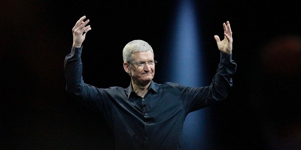 tim cook apple chiffre daffaires
