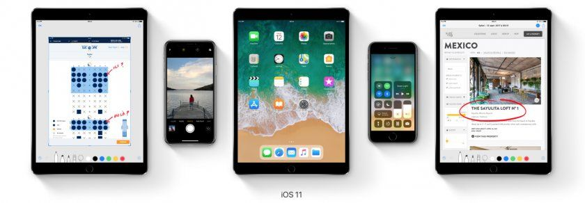 ios 11 presentation ipad iphone