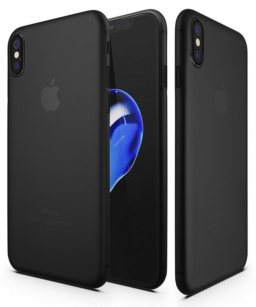 coque iphone x microfibre