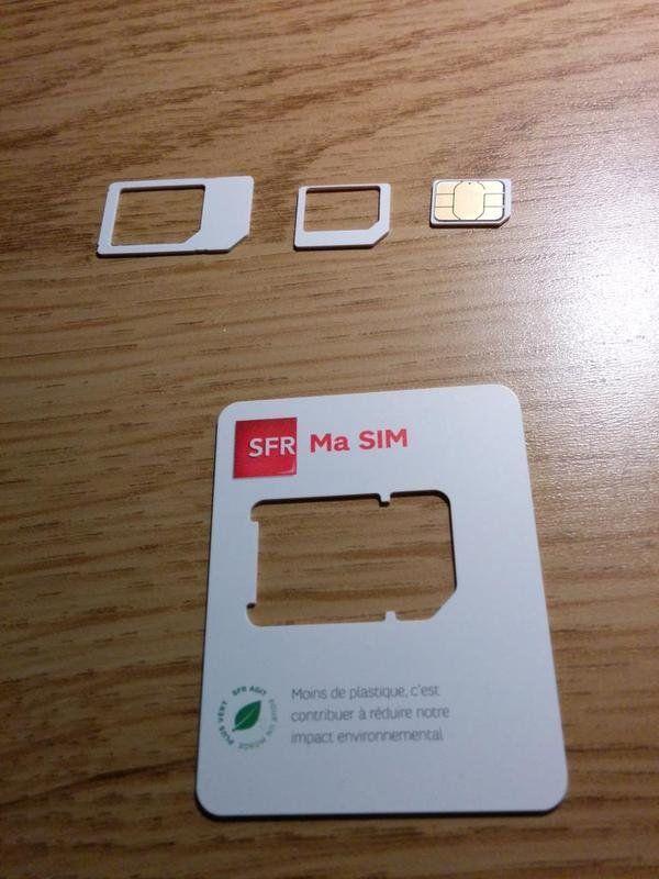 Orange, SFR et Bouygues une triple SIM, mini/micro/nano - iPhone Soft