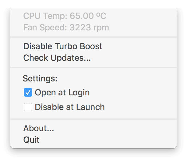 capture mac turbo boost