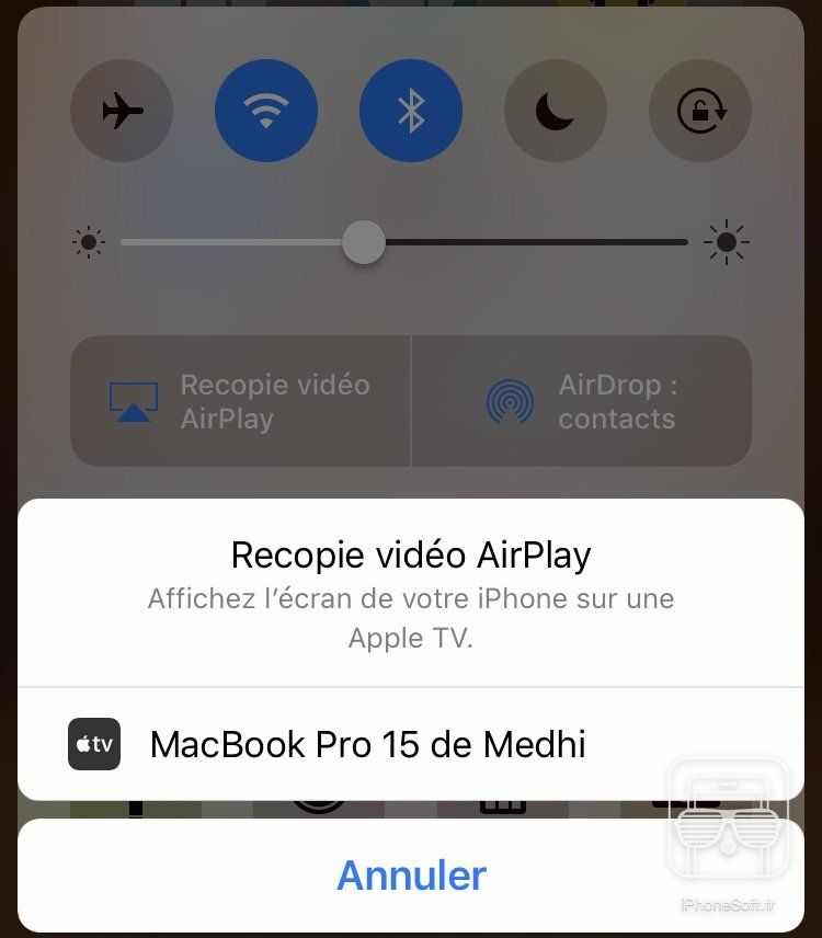 tuto afficher ecran iphone pc mac mirroring