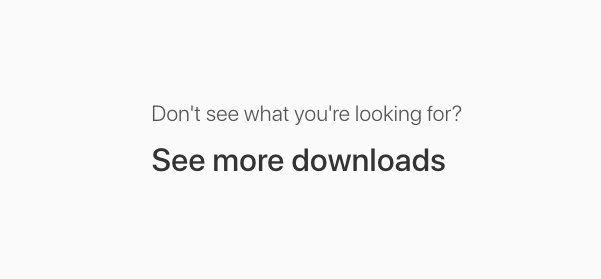 Comment télécharger d'anciennes versions de Xcode ou MacOS - iPhone Soft