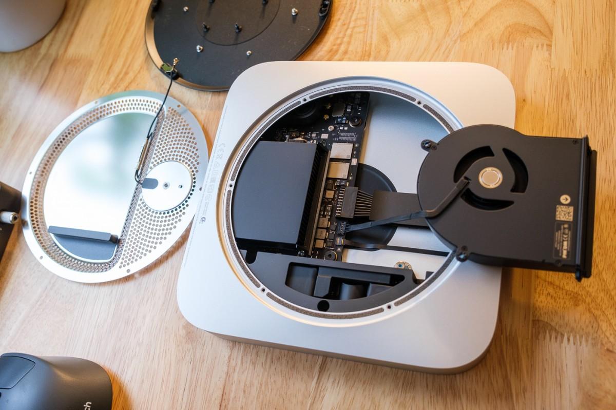 Mac mini M1 : un démontage permet d'apercevoir la puce ...
