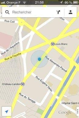 comment localiser google maps la r ponse est sur. Black Bedroom Furniture Sets. Home Design Ideas