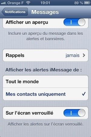 message_affichage_option