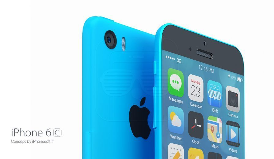 iphone 6c iphonesoft isoft concept