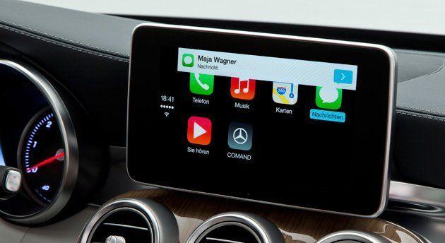 Tim cook parle du projet titan et il y a du nouveau for Mercedes benz apple carplay