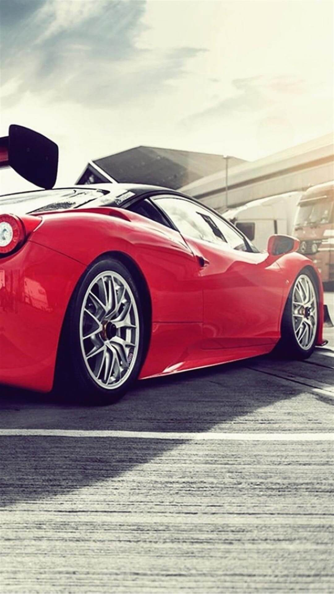 ferrari 458 italia gt3 iphone 7 plus hd wallpaper