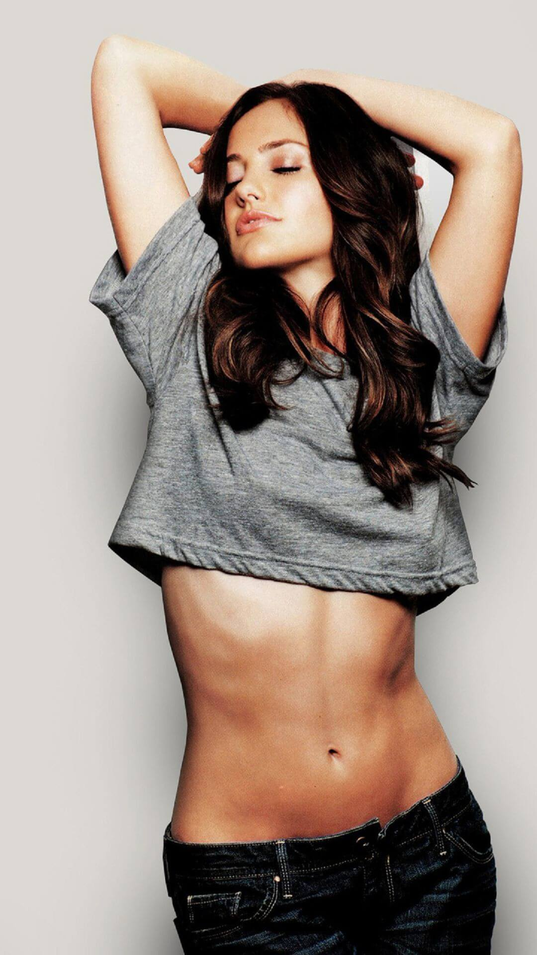 minka kelly sexy actrice iphone 7 plus hd wallpaper