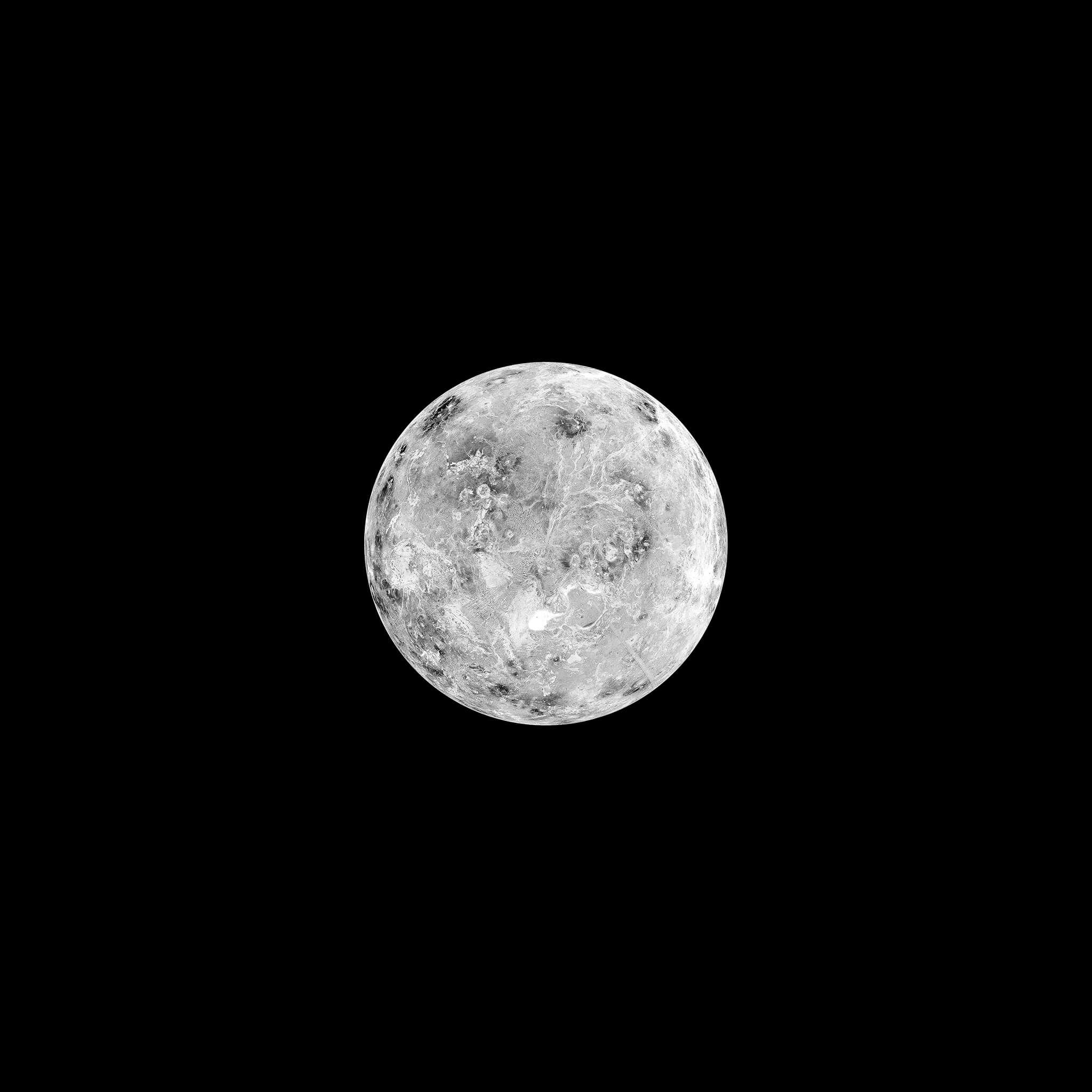 wallpapers lune moon ipad air pro 1