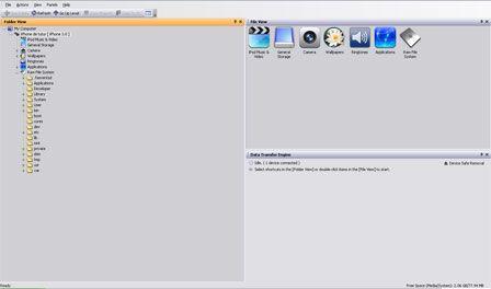 Logiciel i-FunBox : l'iPhone en clé usb - iPhone Soft