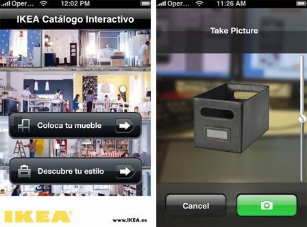 application ikea disponible sur l 39 appstore. Black Bedroom Furniture Sets. Home Design Ideas