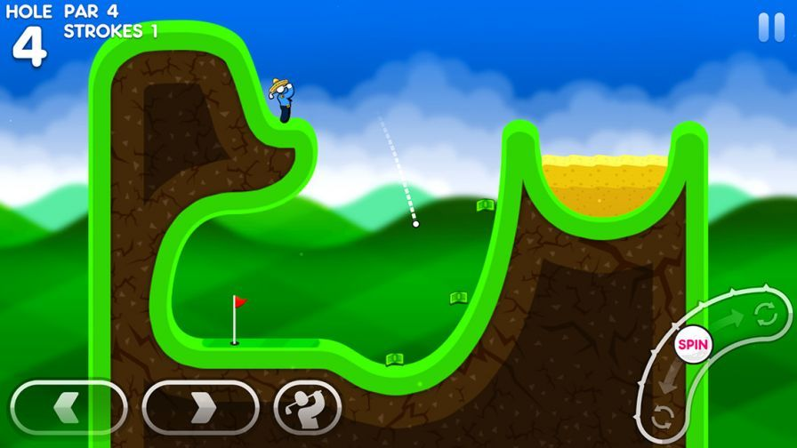 super-stickman-golf-3 ipa iphone ipad