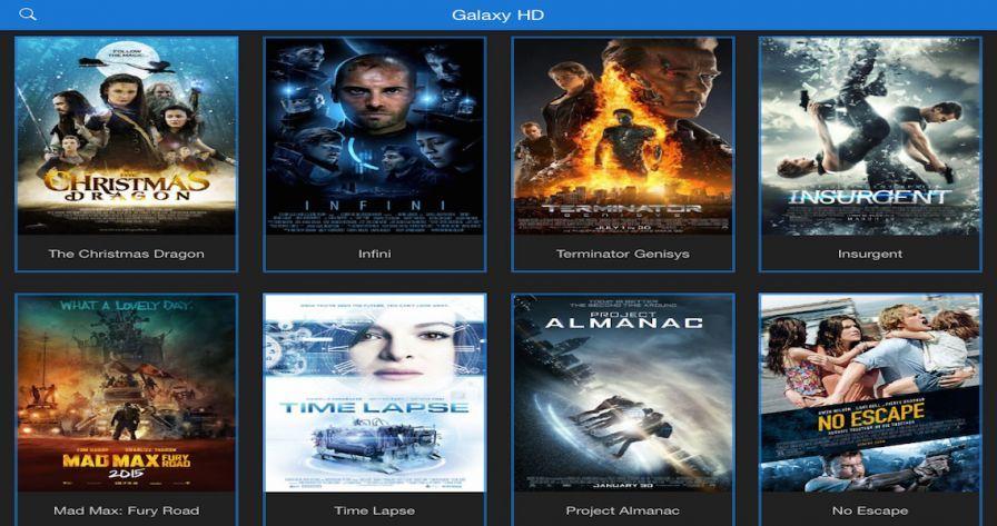 Galaxy World HD : Une app de streaming gratuit pour cinéphile sur iPhone