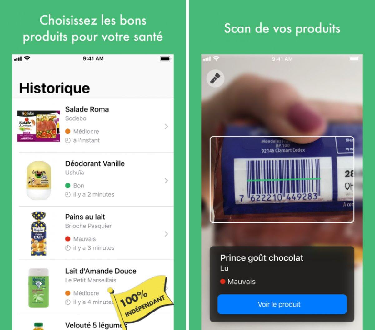 yuka l app de scan de produits devient en partie payante iphone soft
