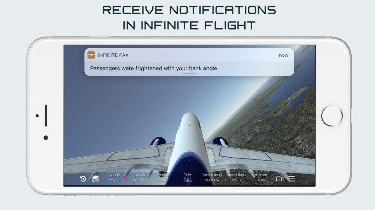 infinite-passengers ipa ipad iphone
