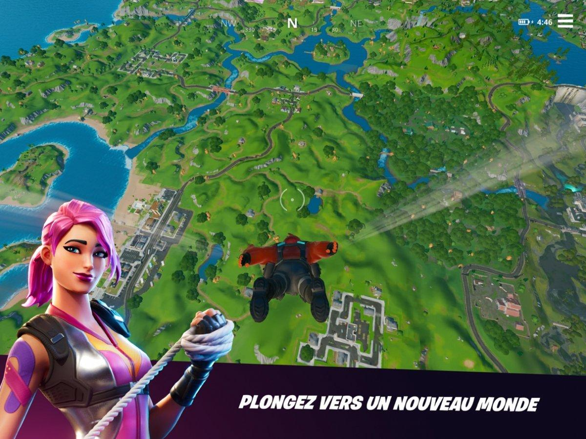 fortnite ios iphone ipad gratuit