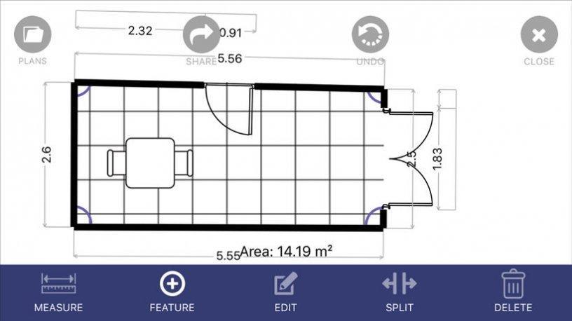 Bons plans ios taskmator floor plan app sallys law for Floor plan app for ipad