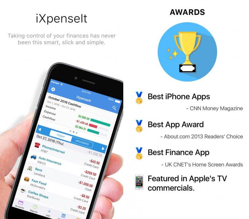 ixpenseit-income ipa ipad iphone