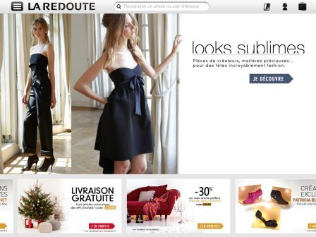 la redoute shopping sur ipad les soldes ont commenc. Black Bedroom Furniture Sets. Home Design Ideas
