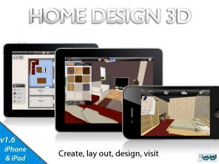 Communiqu teaser pour home design 3d sur iphone for Home design 3d ipad