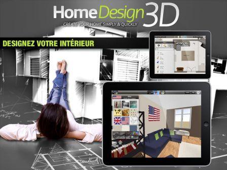 Ipad bons plans app store du 10 avril 2013 for Home design 3d ipad
