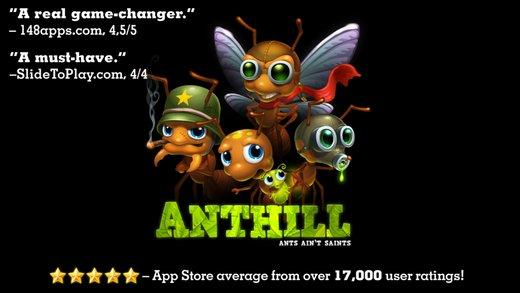 anthill ipa ipad iphone