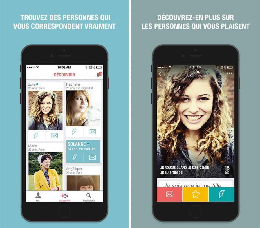 Application iphone rencontre hot