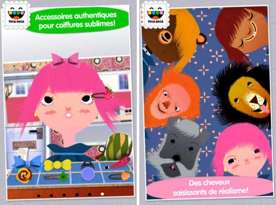 Iphone ipod bons plans app store du 9 ao t 2013 for Toca hair salon me gratuit