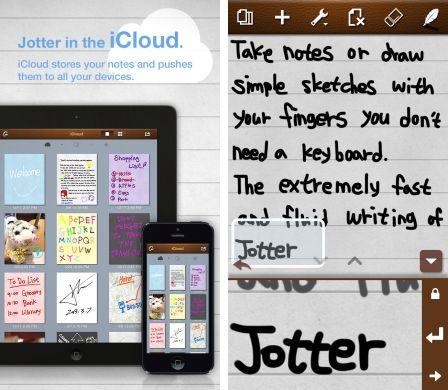 jotter handwriting application