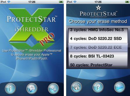 iShredder Pro : Sécurisez vos données ! - iPhone Soft