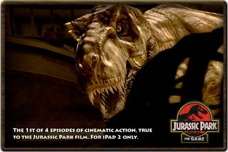 Télécharger Jurassic Park: The Game 1 HD à 5.49? sur App Store.