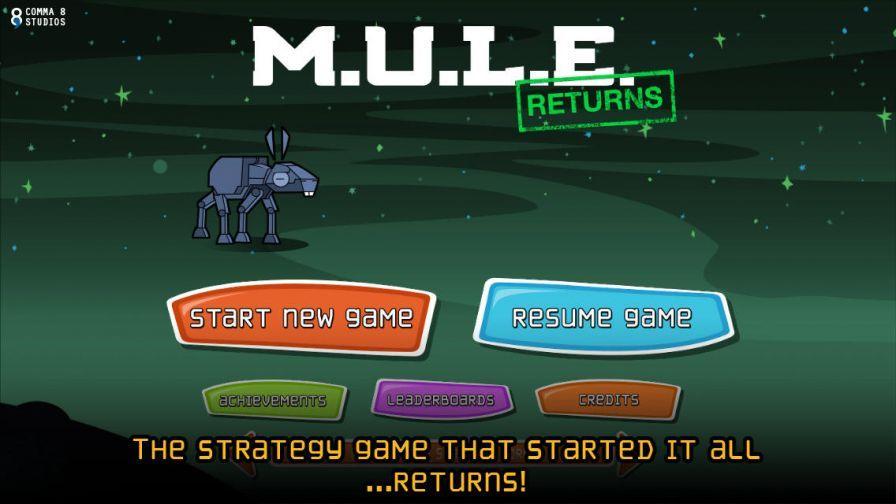 Les dernières sorties jeux iOS : Team Monster, MULE ... Mule Returns