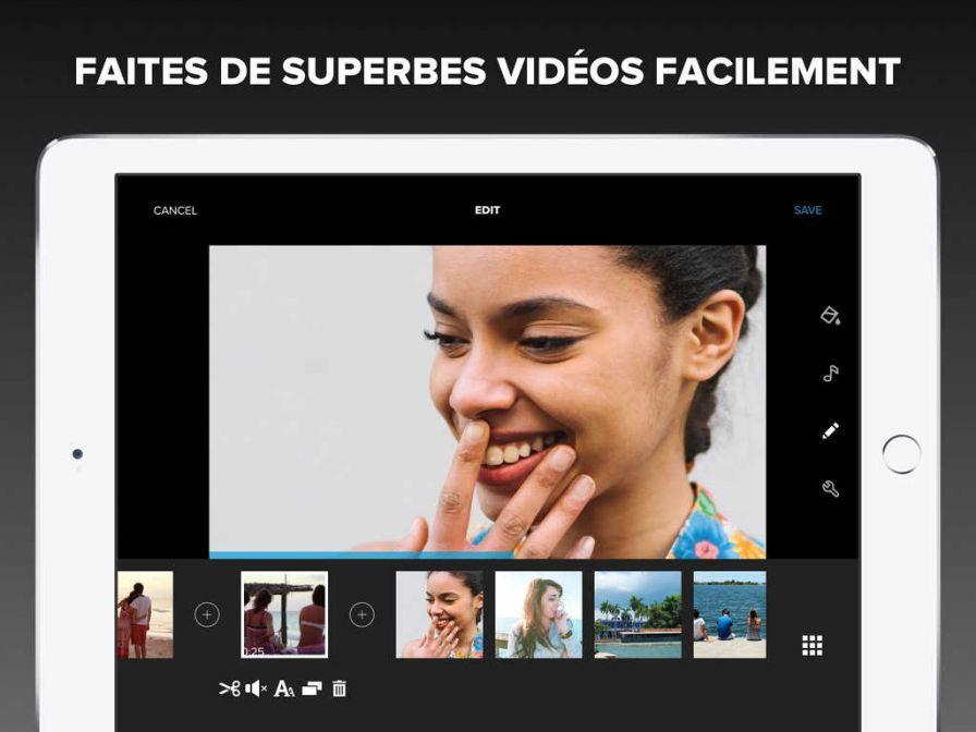 Quik de GoPro remplace Replay et passe totalement gratuit