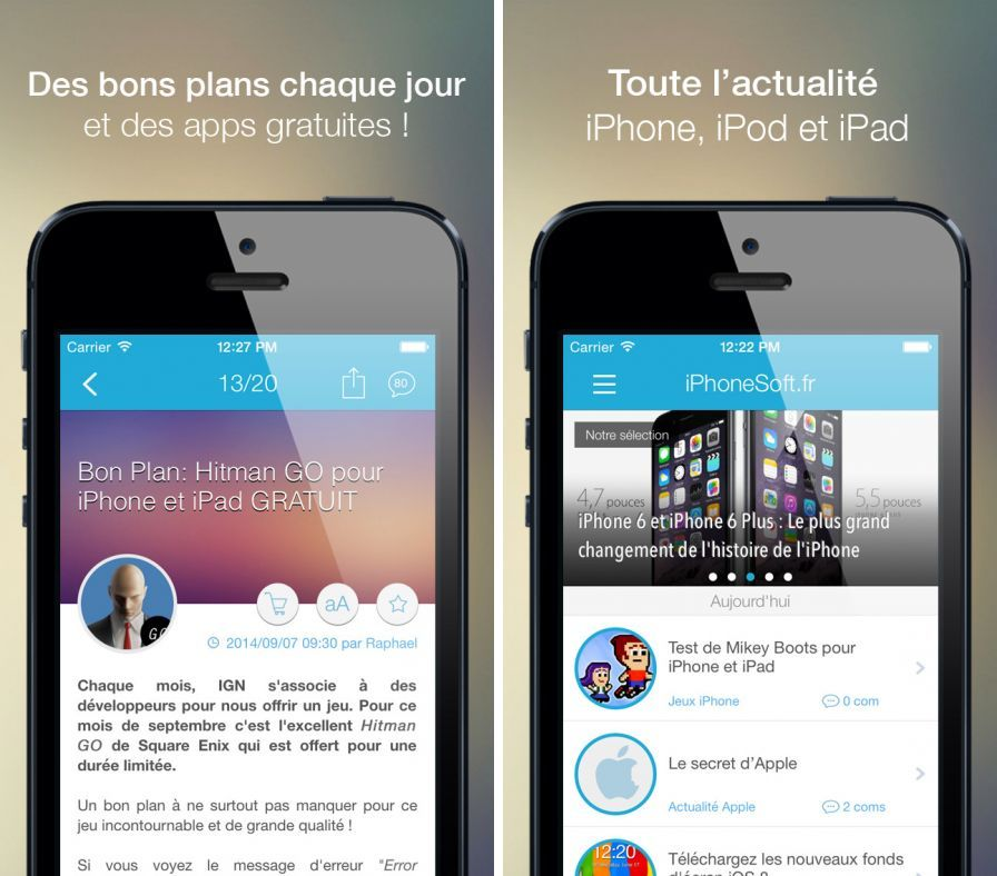 isoft-actu-bons-plans-tests-de ipa iphone ipad