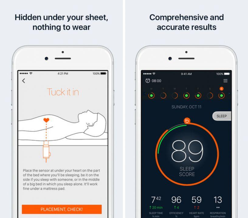 beddit-sleep-monitor ipa iphone