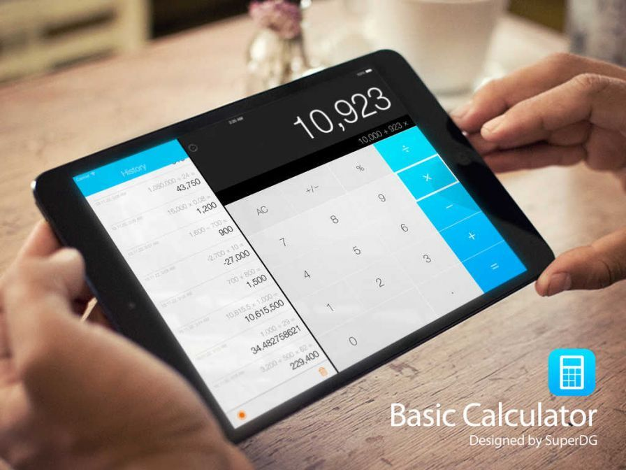 Bons plans ipad stalag 17 game yoga break basic calc pro for Calculette geante