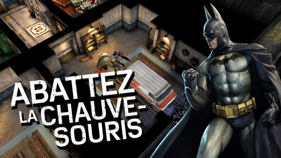Batman: Arkham Underworld disponible partout sur iOS (dont la France)