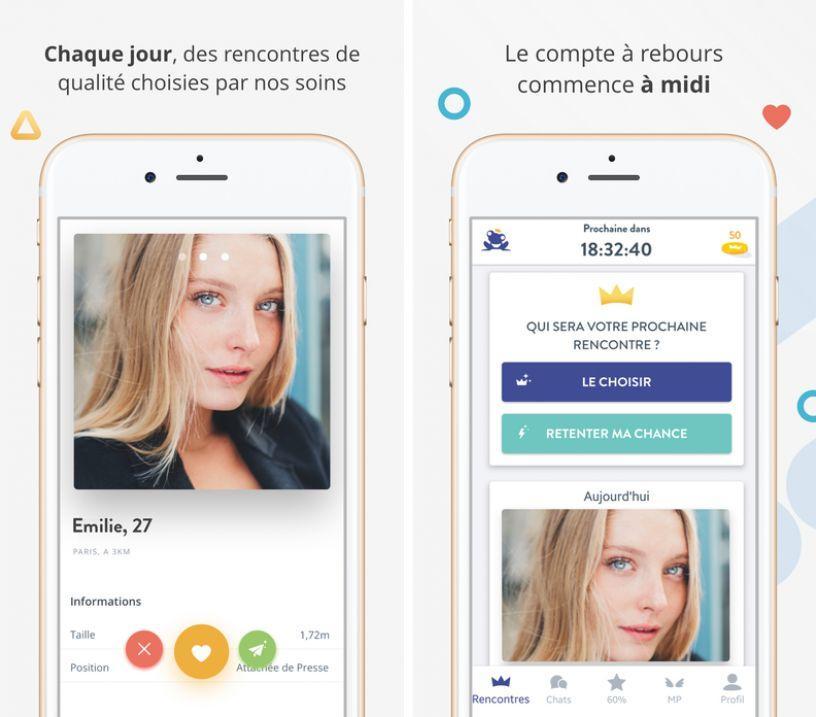 application de rencontres sur iPhone